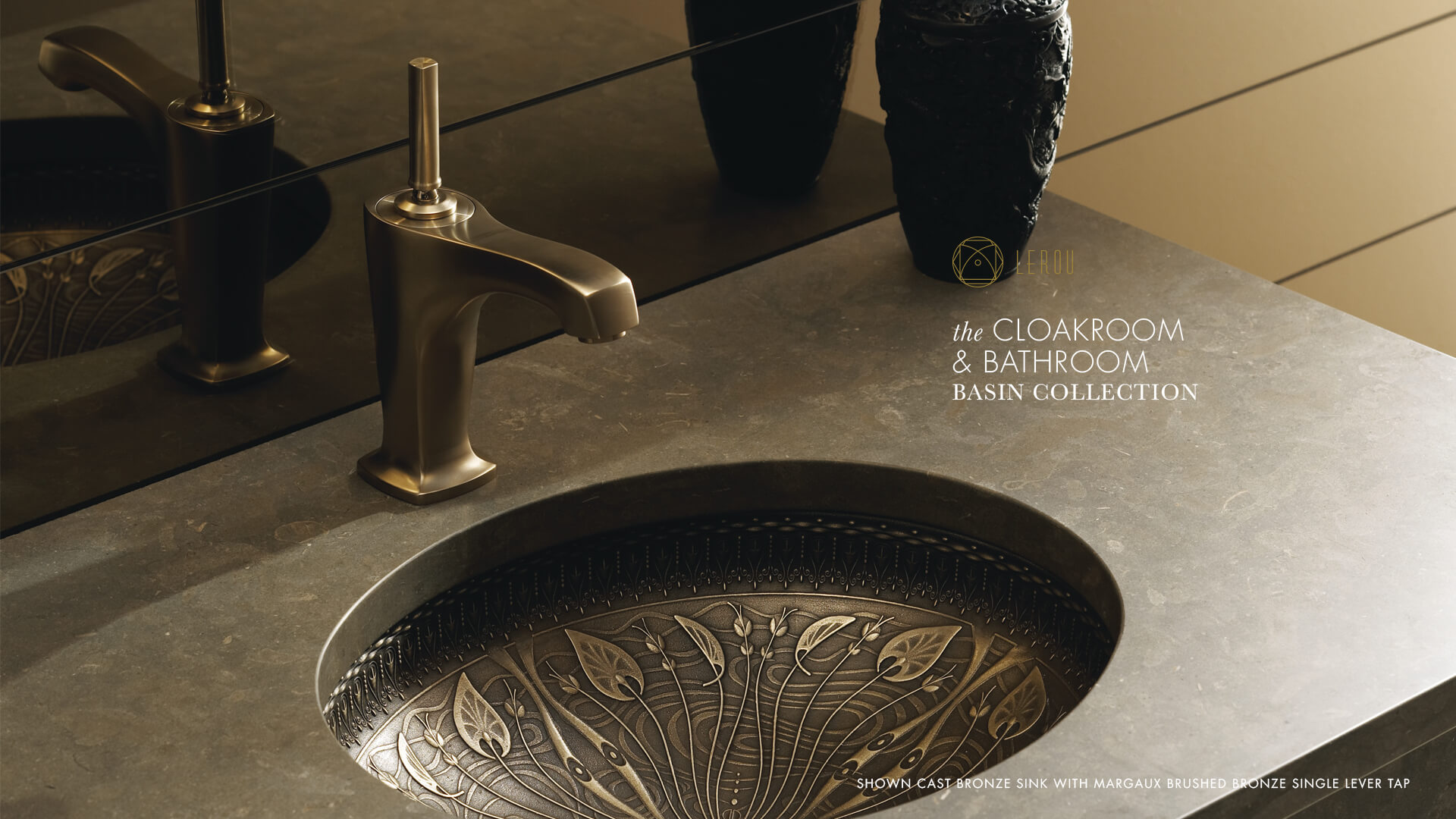 Lerou Cloakroom and Bathroom Basin Collection. Lerou Garderobe en Badkamer wastafel collectie.