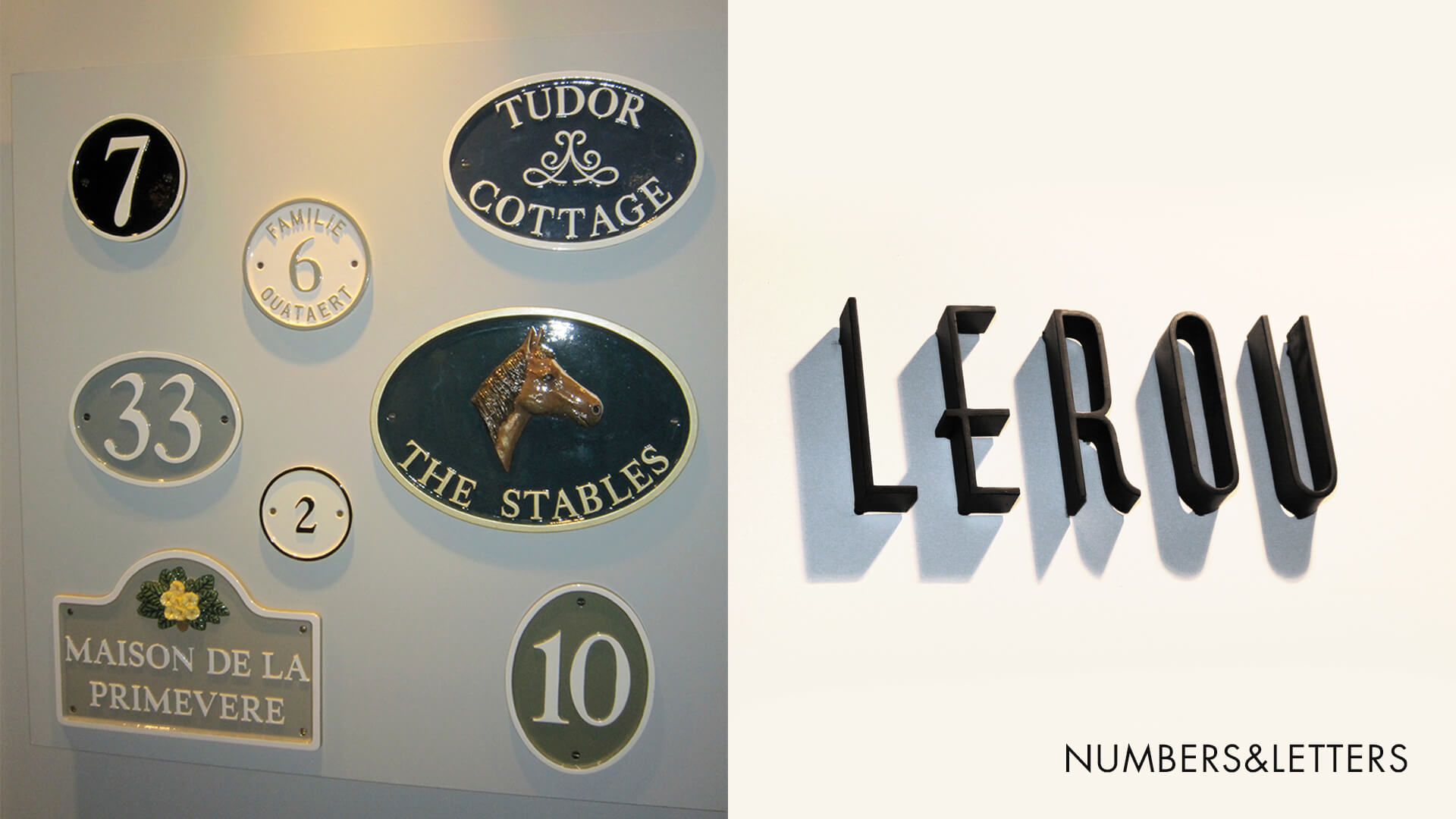 Numbers and Letters, Nummers en letters